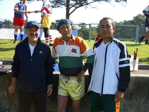 93歳ラガーマン 小林三郎 鈴木忍
